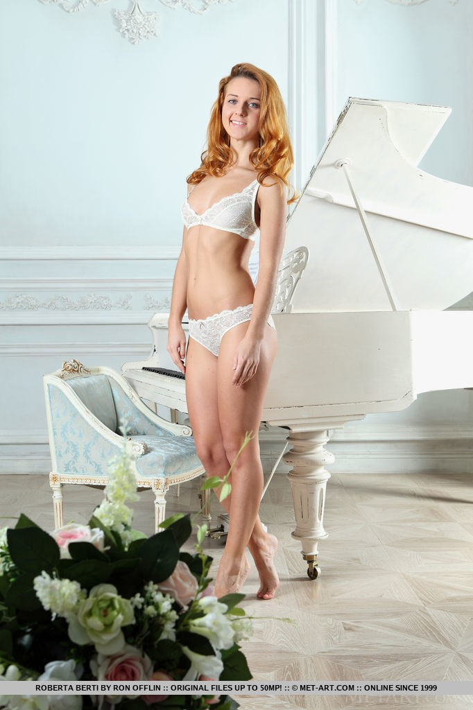 Sexy Redhead Babe Roberta Berti in Foslia By Ron Offlin
