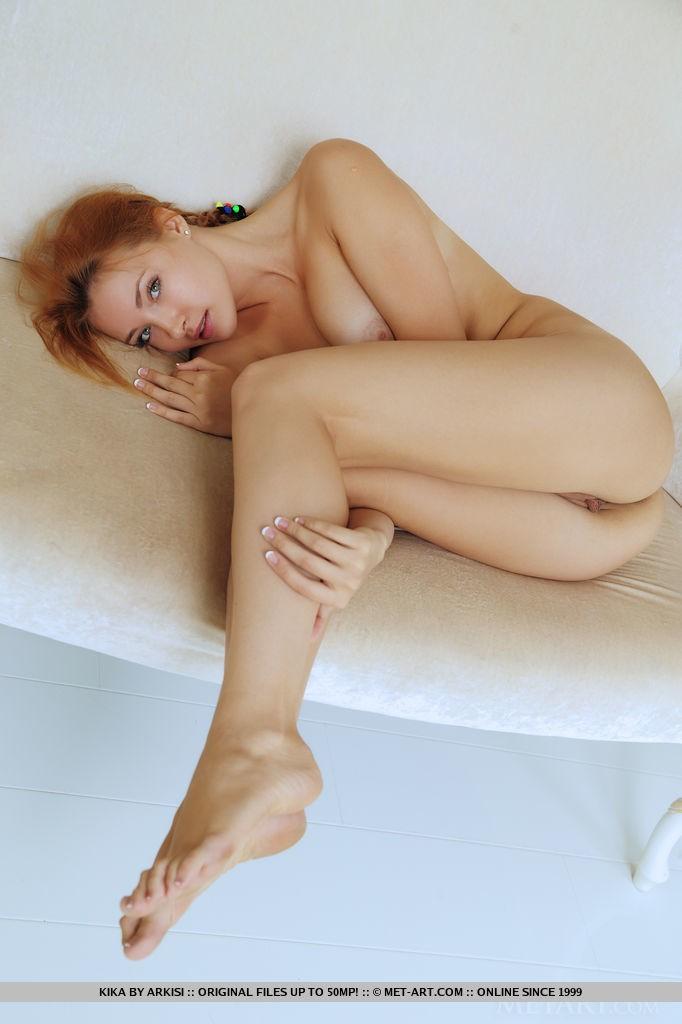 Beautiful Redhead Babe Kika in Achna By Arkisi