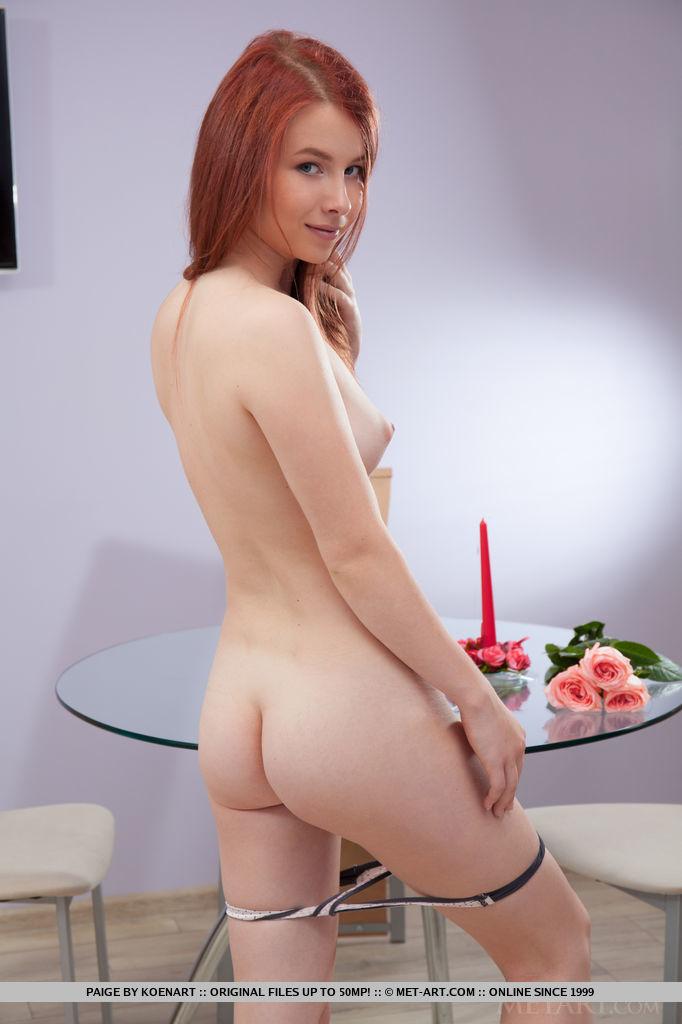 Presenting Beautiful Redhead Babe Paige