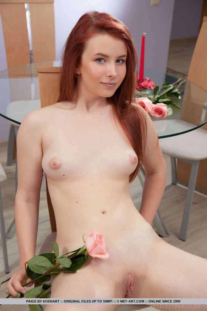 Presenting Beautiful Redhead Babe Paige