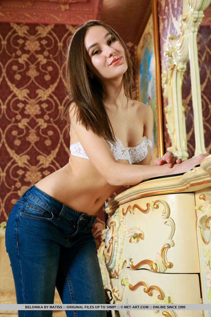 Presenting Beautiful Brunette Belonika