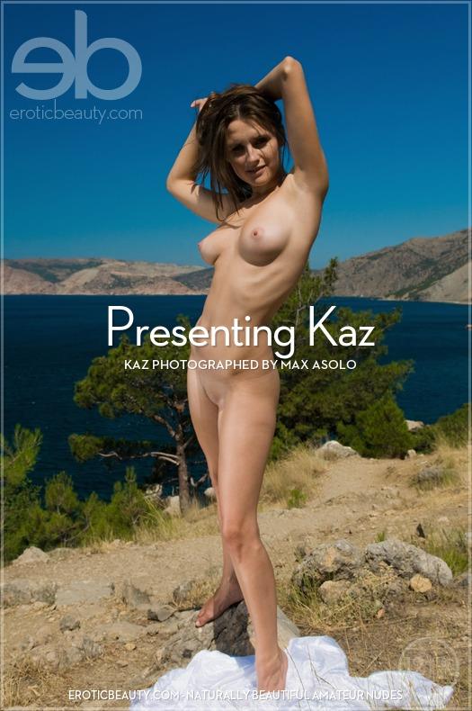 Presenting Beautiful Brunette Kaz