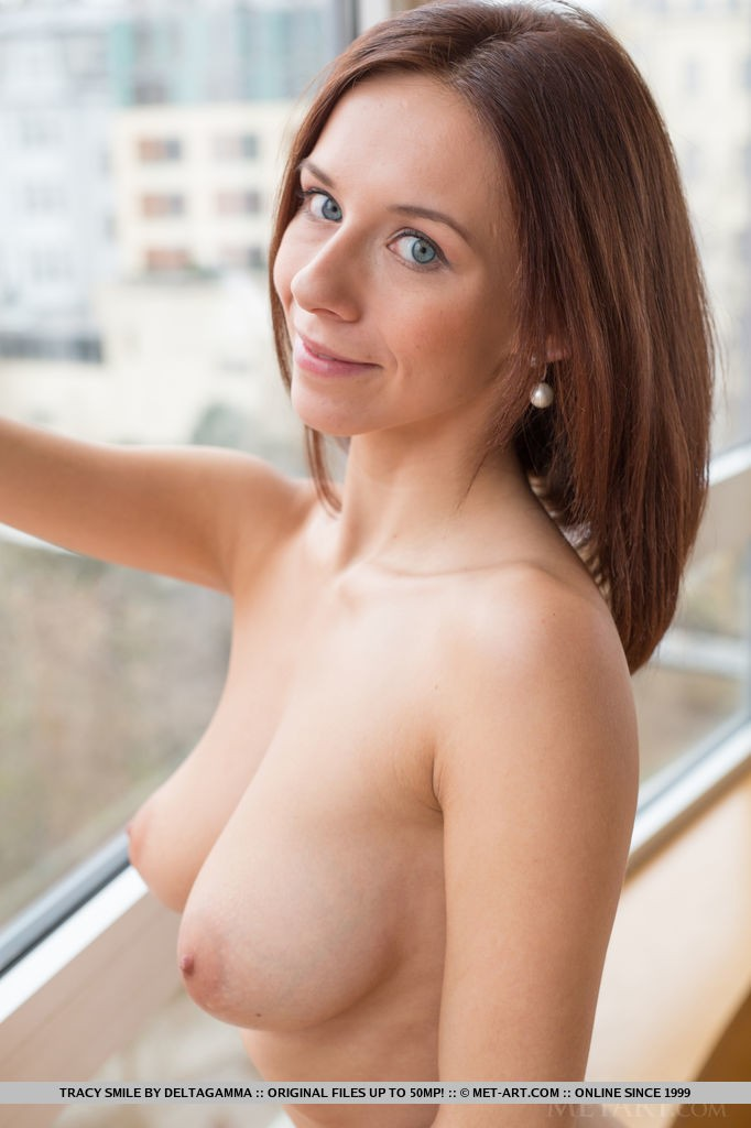 Presenting Beautiful Redhead Tracy Smile